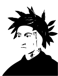 Dante Alighieri embleme du Centre culturel italien Dante Alighieri à Montpellier